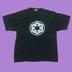 Vintage Star Wars T-Shirt Galactic Republic Emblem